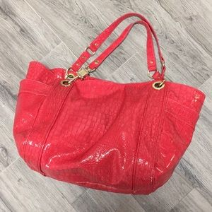 Steven by Steve Madden bag purse tote red